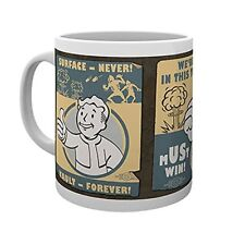 Fallout 4 Vault Posters Gaming Cup Tea Coffee Mug Mugs