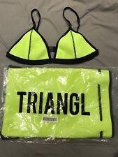 Triangl Bikini Top + Neoprene Bag, Never Worn