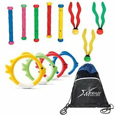 Intex Pool Diving Toys Set of 3 with a Bag:  Fun Balls, Fish Rings, Play Sticks