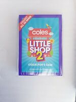 Coles Little Shop 2 Coles Mini - Collectors Case / Folder - Brand New Unopened