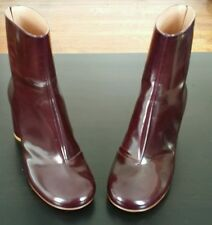 NEW Size 7/37 IN BOX!MAISON MARTIN MARGIELA BOOTIES Cylinder Heel; made in Italy
