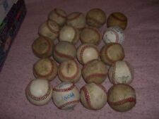 Baseball Ball Lot 20 Practice Balls  O15