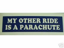 Other Ride Parachute Decal Sticker Skydiving