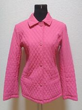 WOMENS NICE PINK JACKET BY GIACCA SIZE MEDIUM BUTTON FRONT