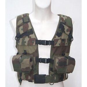 Lot de 30 Gilets de combat TTA réglementaire Armée Française camouflage C/E