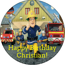 12 Fireman Sam Personalized Birthday Party Sticker Favors