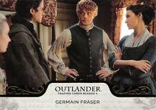 Outlander Season 4 GOLD PARALLEL Base Trading Card #42 - GERMAIN FRASER