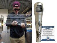 Vanilla Ice Signed Autograph Microphone YO VIP Inscription Mic Proof Beckett BAS
