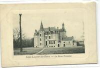 1 CPA 41 Loir et cher Saint-Laurent-Des-Eaux Chateau Des Basses-Fontaines