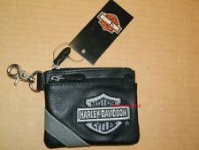 Harley-Davidson® Geldbörse Damen Portemonnaie Leder Kleingeld Beutel Schlüssel