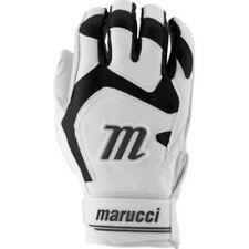 Marucci Signature Batting Gloves MBGSGN2 - White/Black - Large