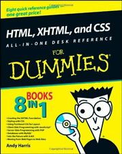 (Very Good)-HTML, XHTML, and CSS All-in-one Desk Reference For Dummies (Paperbac