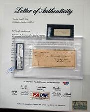 Admiral Winfield Scott Schley United States Civil War U.S. NAVY PSA/DNA LOA RARE