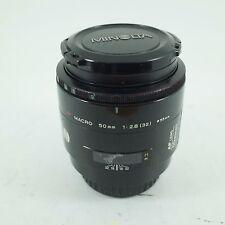 Sony ajuste Macro Minolta AF 50mm Alpha f2.8 lente principal Marco Completo Japón