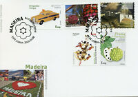 Portugal Madeira Stamps 2020 FDC Castles Cars Flowers Music Europa 5v S/A Set