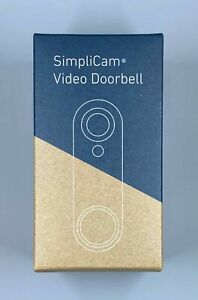 SimpliSafe Video Doorbell Pro - SSDB3 - HD Nigh Vision 2 Way Audio -162 Deg