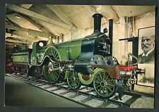 C1980s View of the Steam Locomotive No.1 G.N.R at York Railway Museum