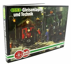 LGB Gleisanlagen und Technik. Gleispläne. Modellbahntechnik. Schmalspurbahnen.