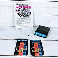 Auto Racing by Mattel Electronics 1980 Intellivision Video Game