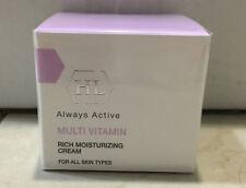 HL HOLY LAND Multi Vitamin Rich Moisturizing Cream 50ml / 1.7oz multivitamin