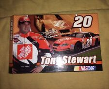 Tony Stewart #20 Photo Book Album Autograph Pages NASCAR Home Depot