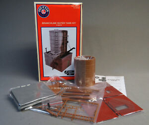 LIONEL BRANCHLINE WATER TANK TOWER KIT O GAUGE train coal steam 6-84315 NEW
