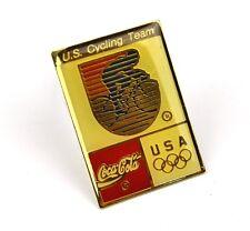Coca Cola Coke USA Solapa Pin Botón Divisa de - U.S. Equipo Ciclismo