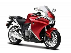 Honda VFR 1200 F Year 2011 Red 1:18 From Maisto Motorcycle Model
