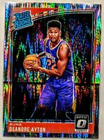 DEANDRE AYTON 2018-19 DONRUSS OPTIC RATED ROOKIE SHOCK PRIZM HOLO INVEST 🔥🔥