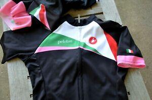 Castelli x Peloton Magazine women's road cycling kit bibs L, Jersey size M