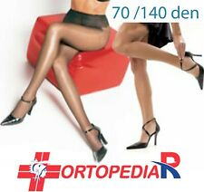 collant donna compressione graduata 70 140 den denari calze compressive medicali