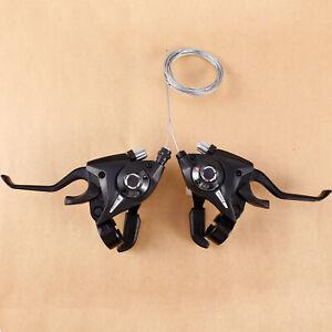 Fahrrad Schalthebel 7-8 fach Gangschaltung L3×R7 /L3 x R8 Gänge für MTB BMX Rad