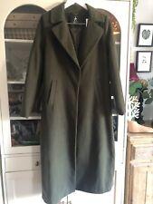 Atmosphere Dark Moss Green Full Length Long Coat SB 12 40