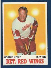 GORDIE HOWE 70-71 TOPPS 1970-71 NO 29 EXMINT++2