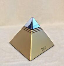 Vintage 1980's Gold Seiko Talking Pyramid Clock Alarm
