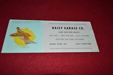 New Holland Daisy Garage Card Dealers Brochure DCPA8