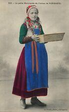 523 La Petite Marchande French France Folklore Costume Vintage Fashion Postcard