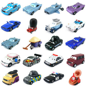Disney Pixar Cars 2 McQueen Racer Rare Characters Toy Car Model 1:55 Kids Gifts
