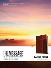 The Message : The Bible in Contemporary Language (2013, Imitation Leather,...