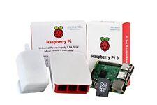 Raspberry Pi 3 Official Desktop Starter Kit 16gb White