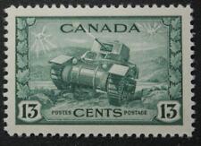 Canada #258, VF, MNH OG, Ram Tank, 1942-43 War Series