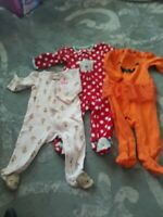 Lot of 3 Carters just one you baby girl