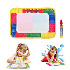 Kid Boy Girl Drawing Water Pen Painting Magic Doodle Aquadoodle Mat Board Toys