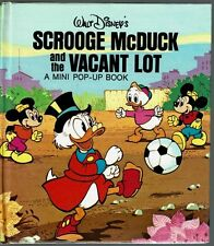 Children's Mini Pop-Up Book ~ Walt Disney's SCROOGE MCDUCK AND THE VACANT LOT