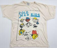Cold War Kids Rock Band Music Mens T Shirt Cream Medium M Alternative