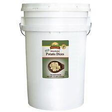 Augason Farms Dehydrated Potato Dices - 10 lb Bucket - Emergency Food Storage