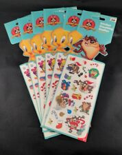Looney Tunes Tweety & Tasmanian Devil Christmas Stickers Lot Of 6 Packages New