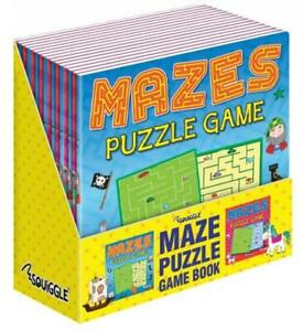 Maze Puzzle Activity Fun Books Game Book 1 Pcs Age 3+ Ideal For Kids Education