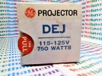 DEJ /  PROJECTION LAMP, BULB / 115-125v 750w / 2 PIECES (qzty)