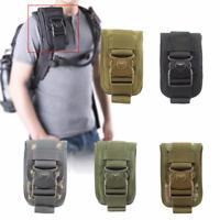 Men's Tactical Pouch Outdoor EDC Belt Waist Bag with 6Inch CellPhone Holder Case